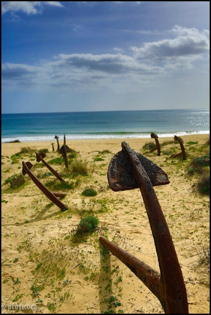 playa anclas